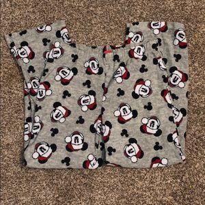 Mickey Mouse Fleece Pajama Pants